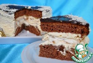 Рецепт Шоколадный торт с безе