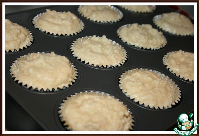 Кексы с творожным кремом рецепт с фото
