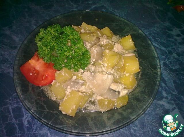 Гнезда из фарша с грибами и сыром в духовке рецепт с пошагово
