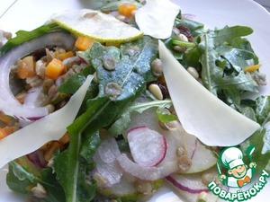 Рецепт Салат с чечевицей по-тоскански.