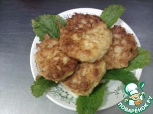 Рецепт Луково-сырные лепешки