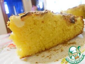 Рецепт Флорентийский яблочный торт