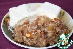 Рецепт Десерт с фруктами из компота