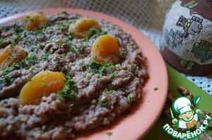 Рецепт Мшош из чечевицы