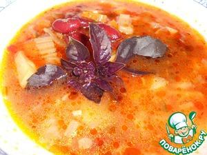 Рецепт Минестроне-риболлита
