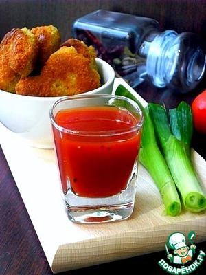Рецепт Карамельно-томатный соус
