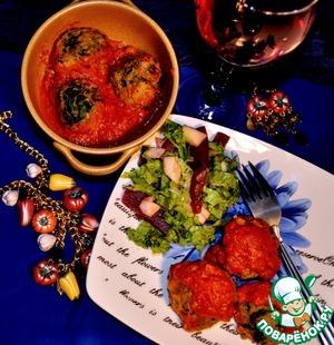 Фрикадельки из чечевицы и шпината в томатном соусе рецепт приготовления с фото