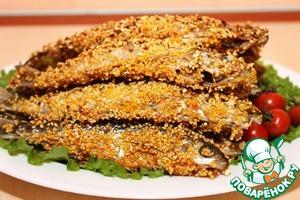 Как готовить Рыба в кукурузной панировке простой пошаговый рецепт с фотографиями
