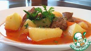 Рецепт Шурпа с говядиной