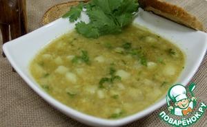 Рецепт Египетский суп из красной чечевицы