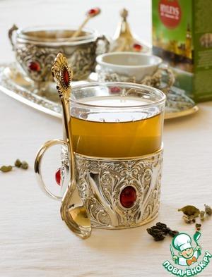 Рецепт Чайный коктейль с кардамоном