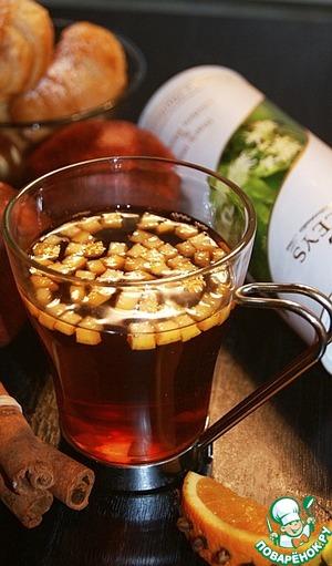 "Рецепт Чайный коктейль ""Ароматерапия"""