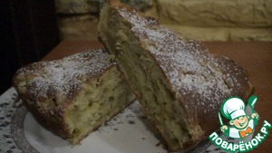 Рецепт Пирог на йогурте с ревенем