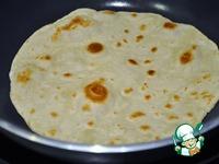 Мексиканская тортилья ингредиенты