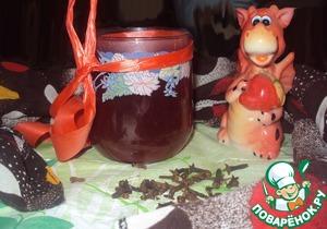 Рецепт Горячий чай с вином и медом