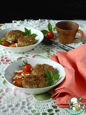 Рецепт Котлеты из печеного баклажана
