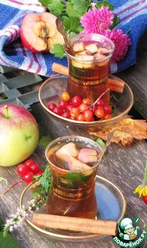 """Рецепт Бабушкин чай """"Яблочный"""""""