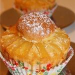 Бисквитно-миндальные ананасовые кексы