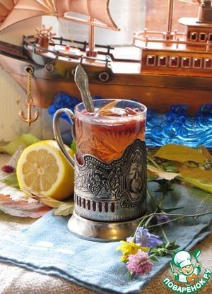 """Рецепт Чайный напиток """"Капитанский"""""""
