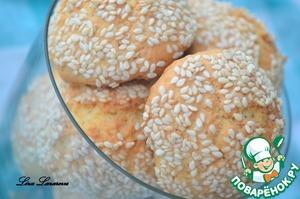 Рецепт Королевское кунжутное печенье от А.Селезнева