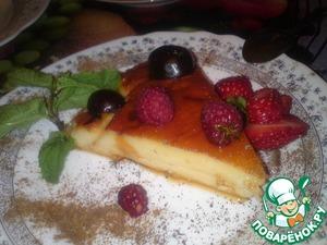 Рецепт Нежный чизкейк с ароматом лимона