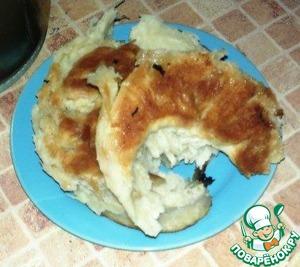 Рецепт Кабардинский слоеный хлеб