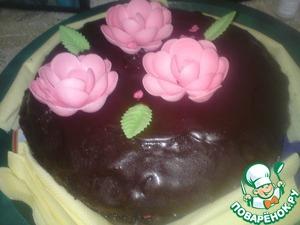 Рецепт Шоколадный пирог-торт к кофе и чаю