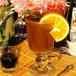 """Согревающий чайный коктейль """"Осенний вечер"""""""