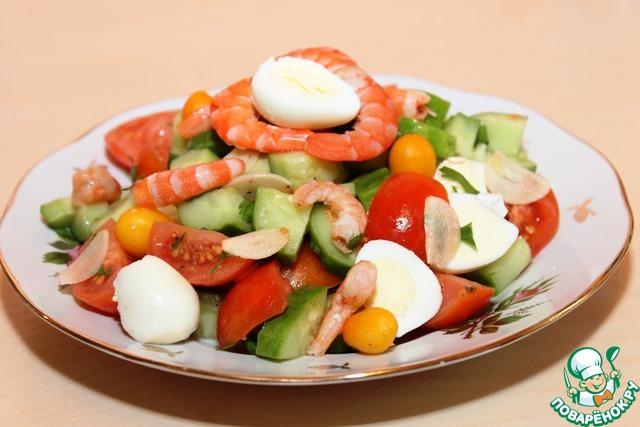 Салат перепелиные яйца фото