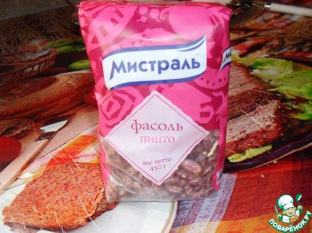 Тушеная фасоль со свининой рецепт