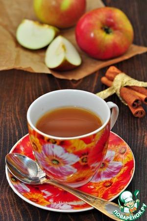 Рецепт Яблочно-медовый чай с ароматом лимона
