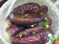 Баклажаны, маринованные целиком ингредиенты