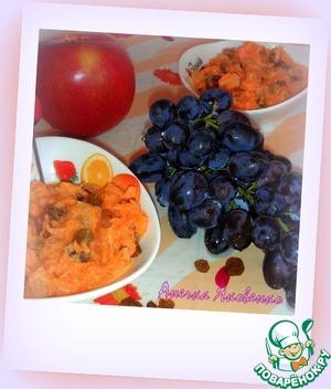 Рецепт Легкий салат из моркови с изюмом