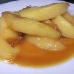 Жареные персики по мотивам Гордона Рамзи