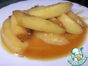 Рецепт Жареные персики по мотивам рецепта британского шеф-повара Гордона Рамзи