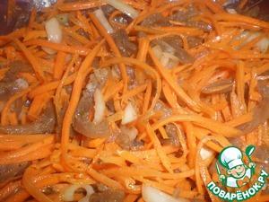 Рецепт Хе из говядины и моркови