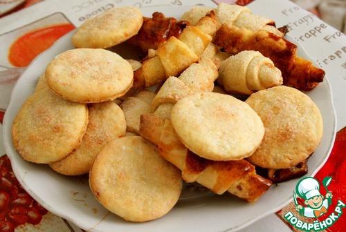 Творожные монетки – кулинарный рецепт