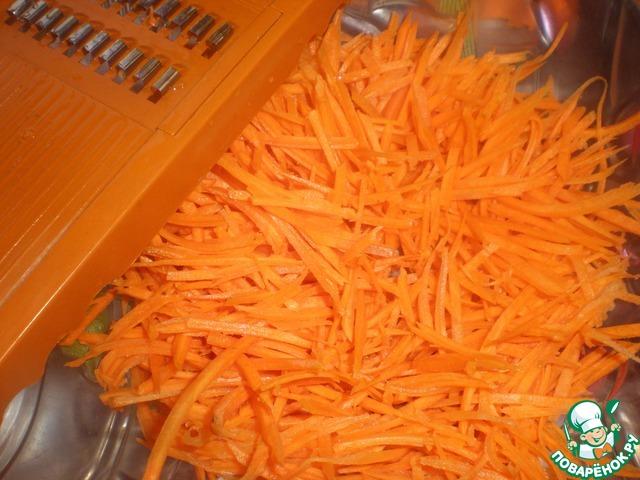 Морковь в уксусе рецепт