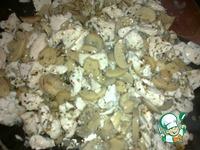 Куриная грудка с грибами в нежном сливочном соусе ингредиенты