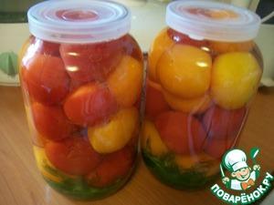 Рецепт Малосольные долгохранящиеся огурцы и помидоры