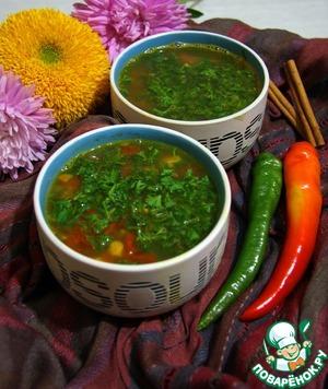 Рецепт Суп с машем и томатами