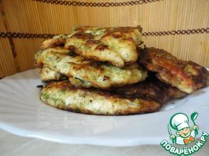 Рецепт Куриные отбивные в луково-зеленом кляре