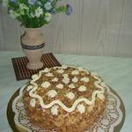 Торт на сковородке.