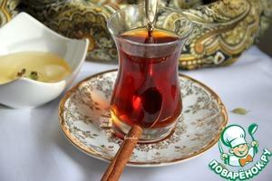 """Рецепт Оживляющий чайный напиток """"Восточная сказка"""""""