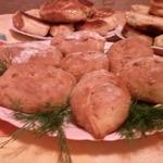 Пирожки на кефирном тесте (с 2 разными начинками)