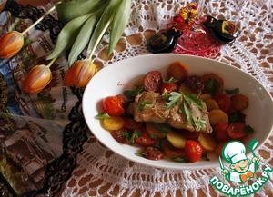 Рецепт Испанская сковорода
