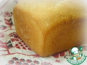 Рецепт Простейший белый хлеб на закваске. Дубль 2