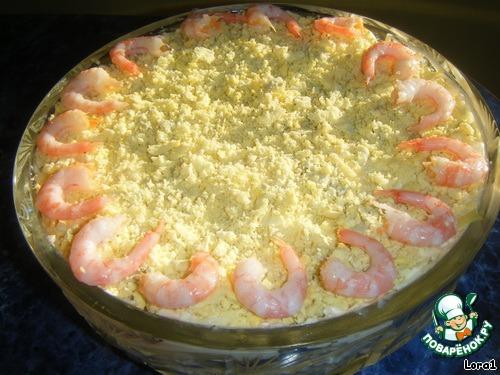 Рыбные рецепты праздничных салатов с фото