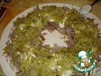 "Салат ""Птичье гнездо"" ингредиенты"