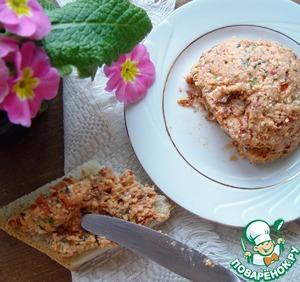 Рецепт Сырная паста с тархуном и вялеными томатами